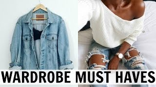 10 WARDROBE ESSENTIALS // How to Build Your Closet From Basics