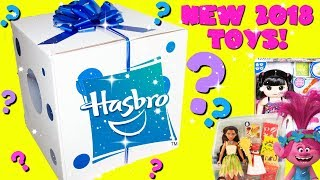 GIANT Hasbro Toy Surprise Gift Box New 2018 Toys Moana, Disney Princesses, Trolls, Baby Alive