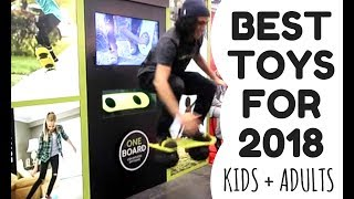 The Best Toys for 2018 – for kids & adults – at Toy Fair New York