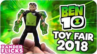 Check Out NEW Ben 10 Toys! | Toy Fair NYC 2018 – XanderFlicks