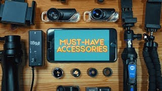 Must Have Filmmaking Accessories for iPhones & Androids