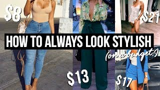 TOP 6 WARDROBE STAPLES ⇢ How To Put Outfits Together | Look Stylish and Expensive On A Budget!