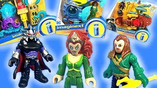 Imaginext Aquaman Toys with Mera and Ocean Master New for 2018