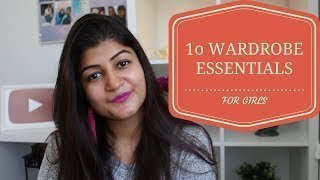 10 Wardrobe Essentials For Girls || Must Haves || RIDHIMA MOHINI