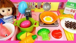[Video] Baby doli food cart and cooking toys play