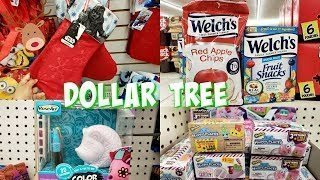 DOLLAR TREE *NEW* Stockings Food TOYS SHOP WITH ME 2018