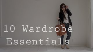 10 Wardrobe Essentials