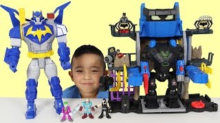 [Video] Robo Batcave Playset Kids Toy Unboxing And Playing With Batman Robin Joker Ckn Toys