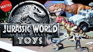 New Jurassic World Fallen Kingdom Toys 2018 – Toy Fair 2018