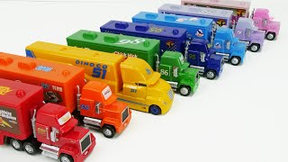[Video] Disney Cars Toy Trucks Color Learning Video for Kids!
