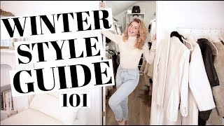 Winter Style Guide | Winter Wardrobe Essentials!