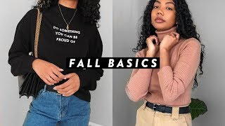 HOW TO BUILD A FALL WARDROBE WITH BASICS | Asia Jackson
