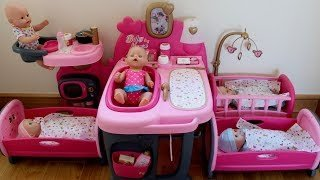 [Video] Baby Born Baby Annabell in the Nursery Center compilation,  Pretend play with Baby Dolls