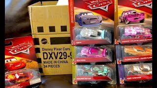 New Disney Cars 3 Toys 2018 Diecast Cars Case B Unboxing & GIVEAWAY – Rich Mixon Sheldon Shifter