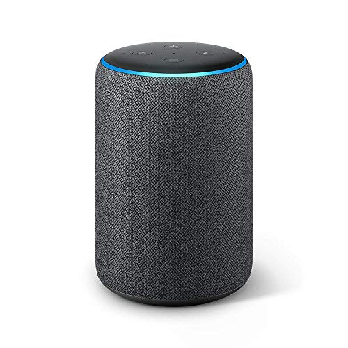 Echo Plus (2nd Gen) – Premium sound with built-in smart home hub – Charcoal