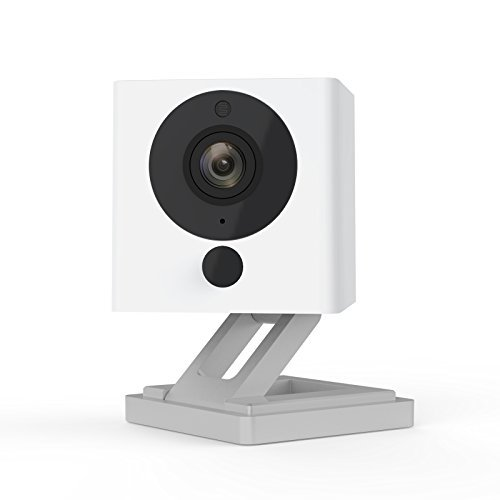 Wyze Cam 1080p HD Indoor Wireless Smart Home Camera with Night Vision, 2-Way Audio, Works with Alexa & the Google Assistant, One Pack, White – WYZEC2