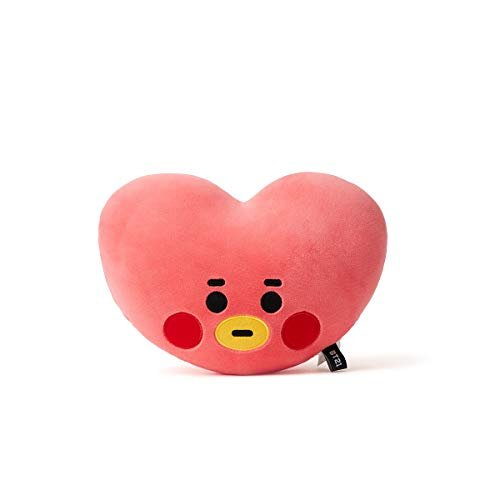 BT21 Official Merchandise by Line Friends – TATA Character Baby Face Flat Cushion