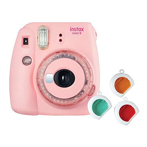 Fujifilm Instax Mini 9 Instant Camera Clear Pink – Special Edition