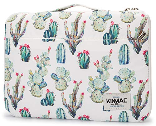 Kinmac Cactus 360° Protective Water Resistant 12.5 inch-13.3 inch Laptop Case Bag Sleeve with Handle for Surface Pro,MacBook Pro 13″,MacBook 12″,New MacBook Air 13″ Retina and iPad pro 12.9