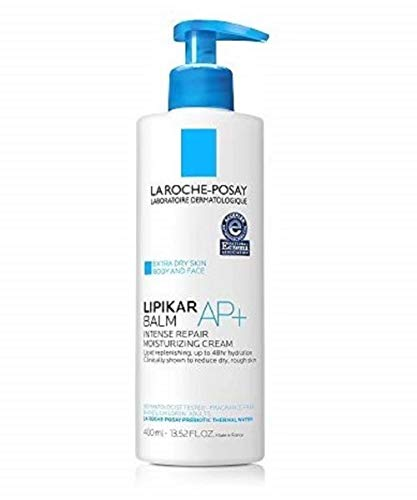 La Roche-Posay Lipikar Balm AP+ Intense Repair Body Cream for Extra Dry Skin & Sensitive Skin, Body Moisturizer to Hydrate & Soothe, Dermatologist Recommended, Fragrance-Free.