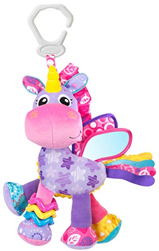 Playgro Baby Toy Activity Friend Stella Unicorn 0186981 for baby infant toddler children is Encouraging Imagination with STEM/STEAM for a bright future – Great Start for A World of Learning