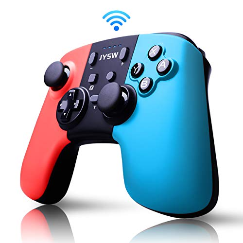 Pro Wireless Controller for Nintendo Switch – Remote Pro Controllers Gamepad Joypad Joystick for Nintendo Switch Console Supports Gyro Axis & Turbo & Dual Vibration [Update Version]