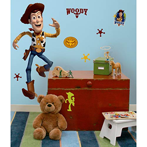 RoomMates Toy Story Woody Giant Peel and Stick Wall Decal – RMK1430GM