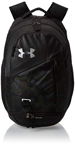 Under Armour Adult Hustle 4.0 Backpack , Desert Sand (290)/Silver , One Size