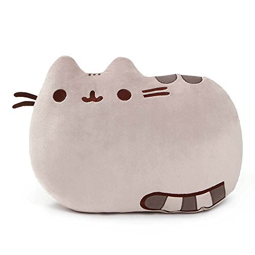 GUND Pusheen Pillow Cat Plush Reversible, 16.5″