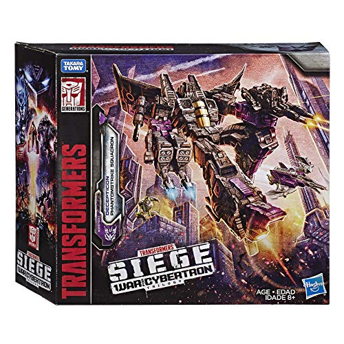 Transformers Toys Siege War For Cybertron Voyager Wfc-S27 Decepticon Phantomstrike Squadron 4 Pack – Final Strike Figure Series: Part 2 (Amazon Exclusive)